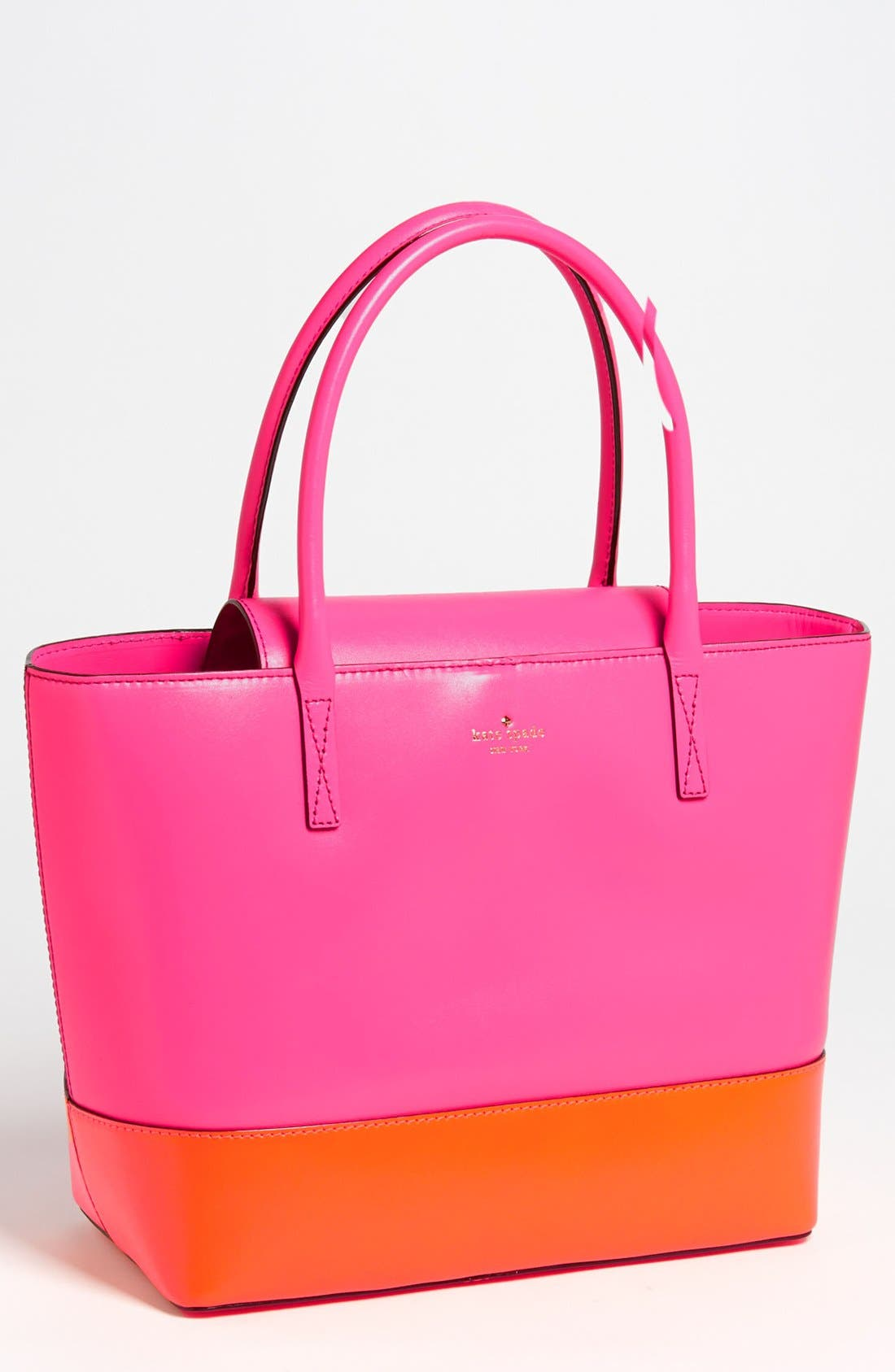 Alternate Image 1 Selected - kate spade new york 'madison park - small coal' leather tote
