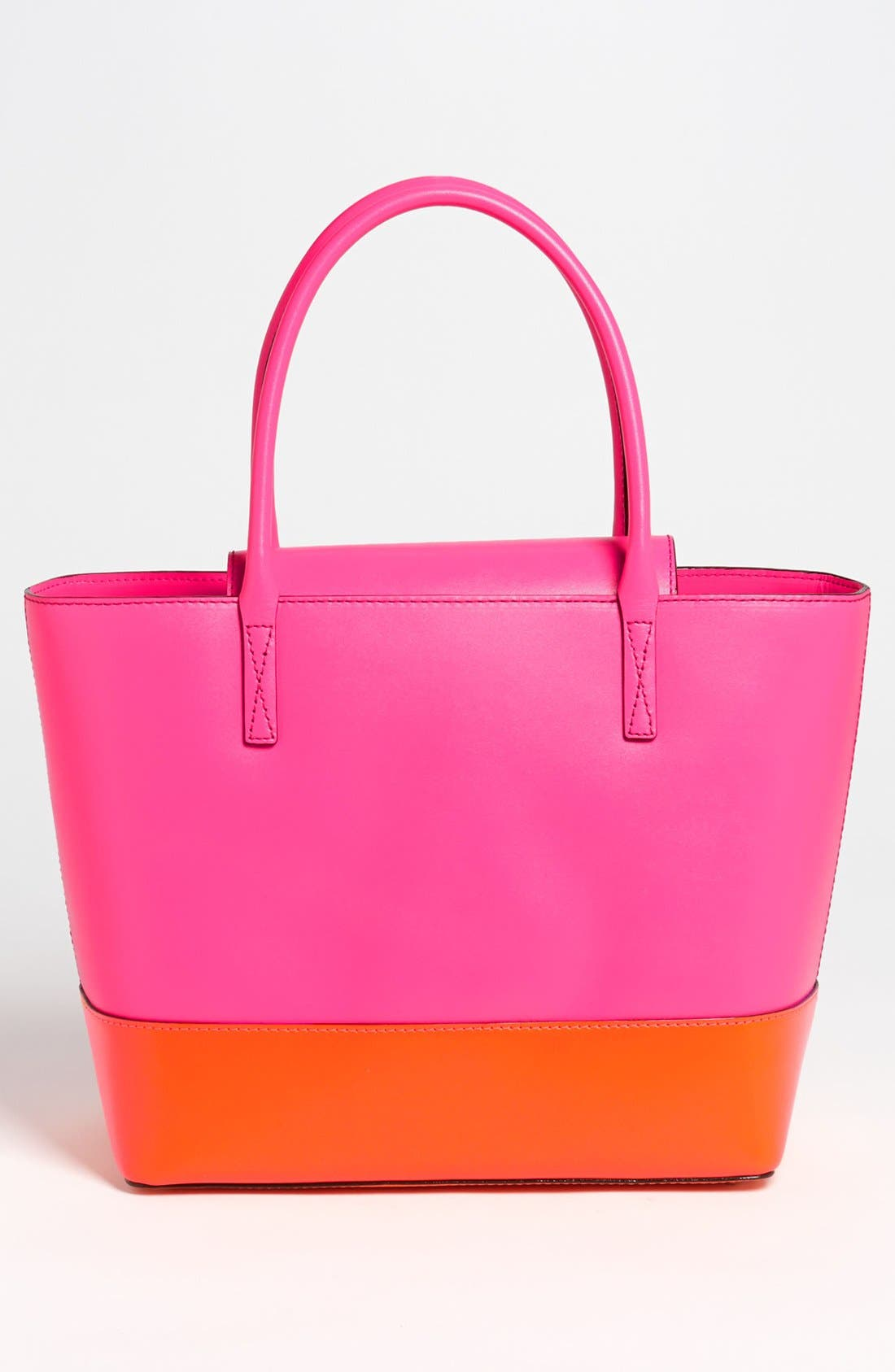 Alternate Image 4  - kate spade new york 'madison park - small coal' leather tote