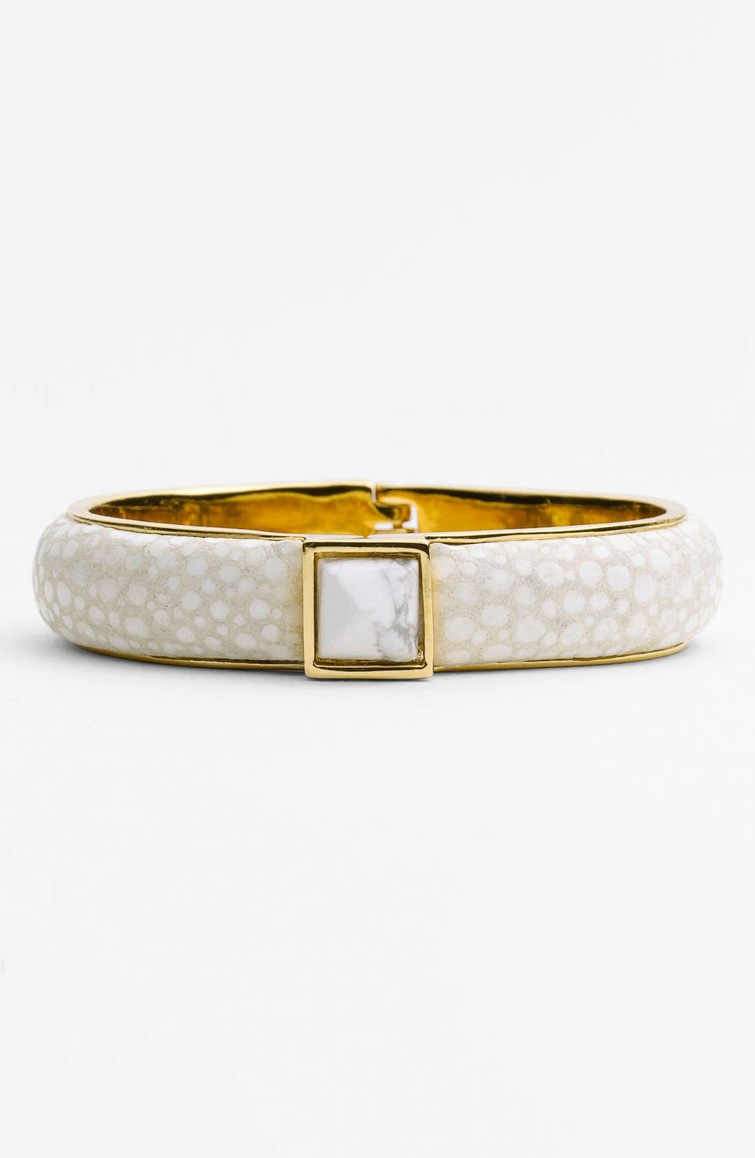 Alternate Image 1 Selected - Vince Camuto 'Bombe' Hinged Bangle