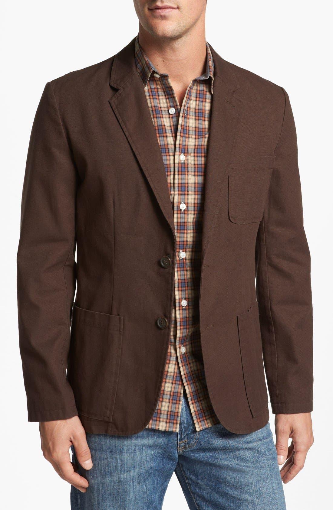 Main Image - Wallin & Bros. Trim Fit Dobby Sportcoat