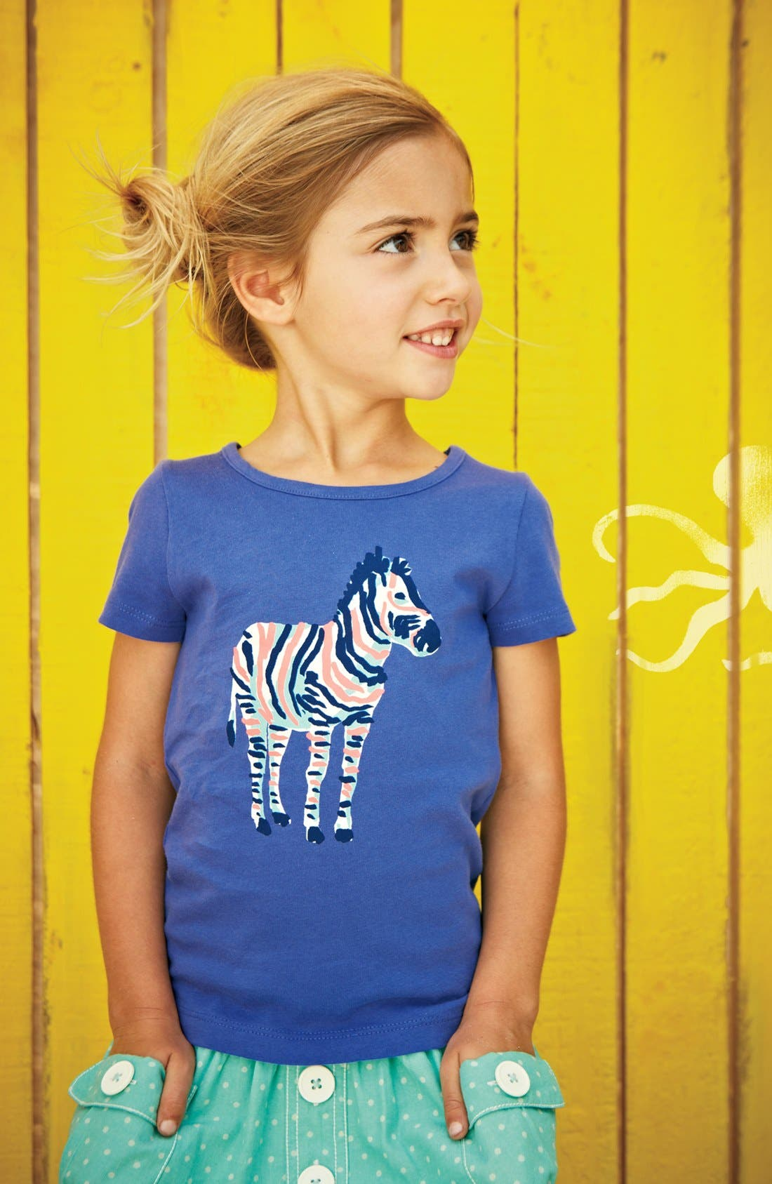 Alternate Image 3  - Mini Boden 'Colorful Carnival' Tee (Little Girls & Big Girls)