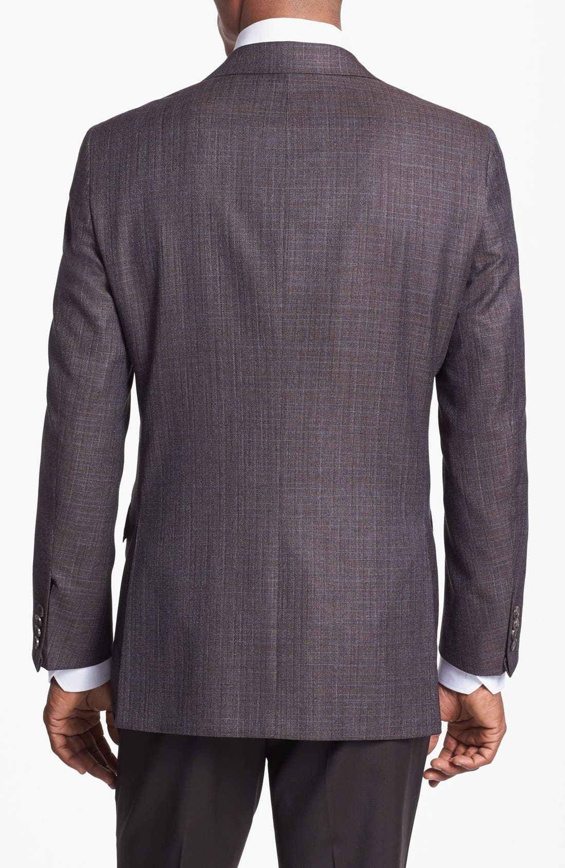 Alternate Image 3  - Hickey Freeman Wool Blend Sportcoat