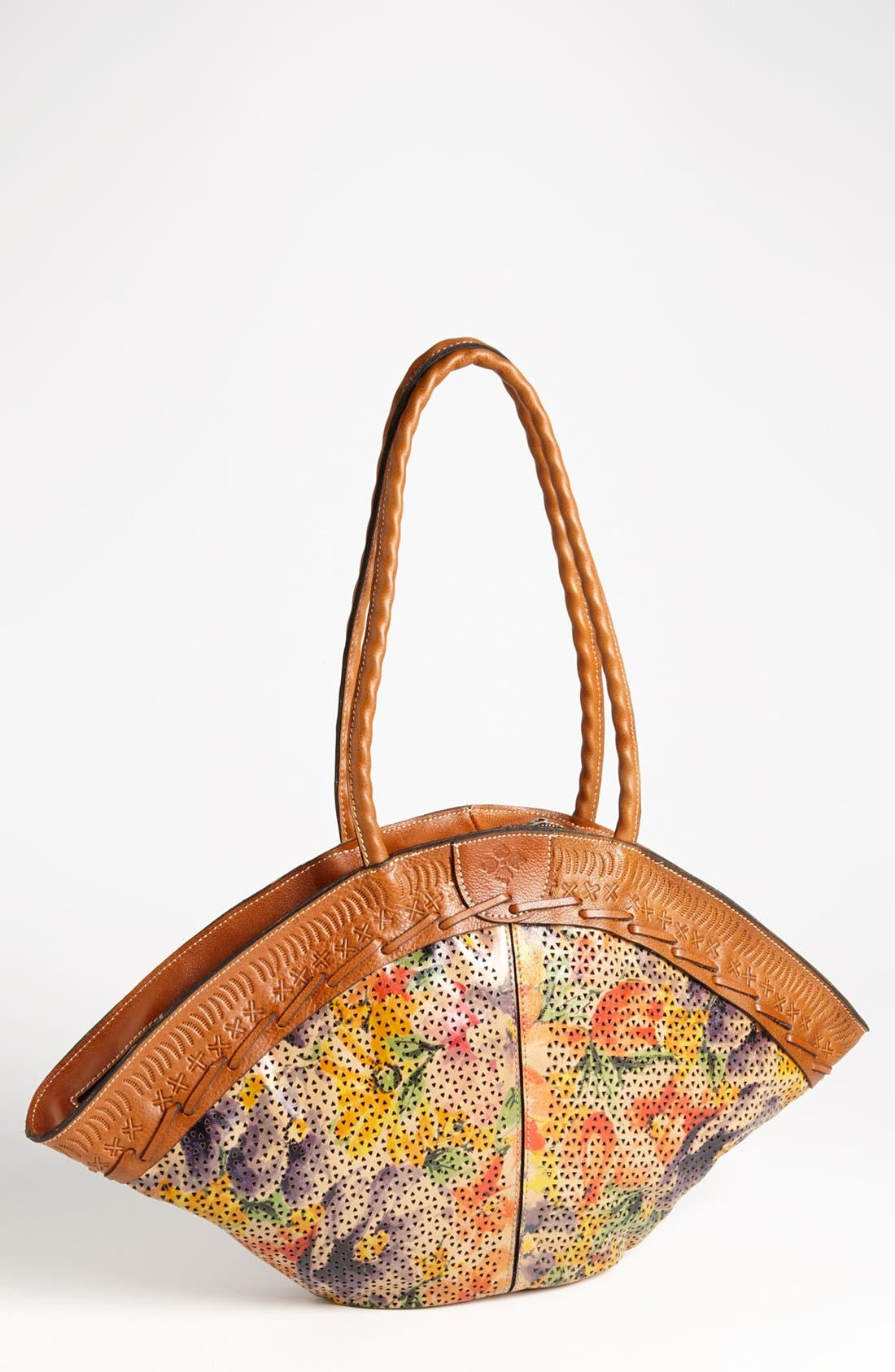 Main Image - Patricia Nash 'Trope Dome' Glazed Tote, Medium