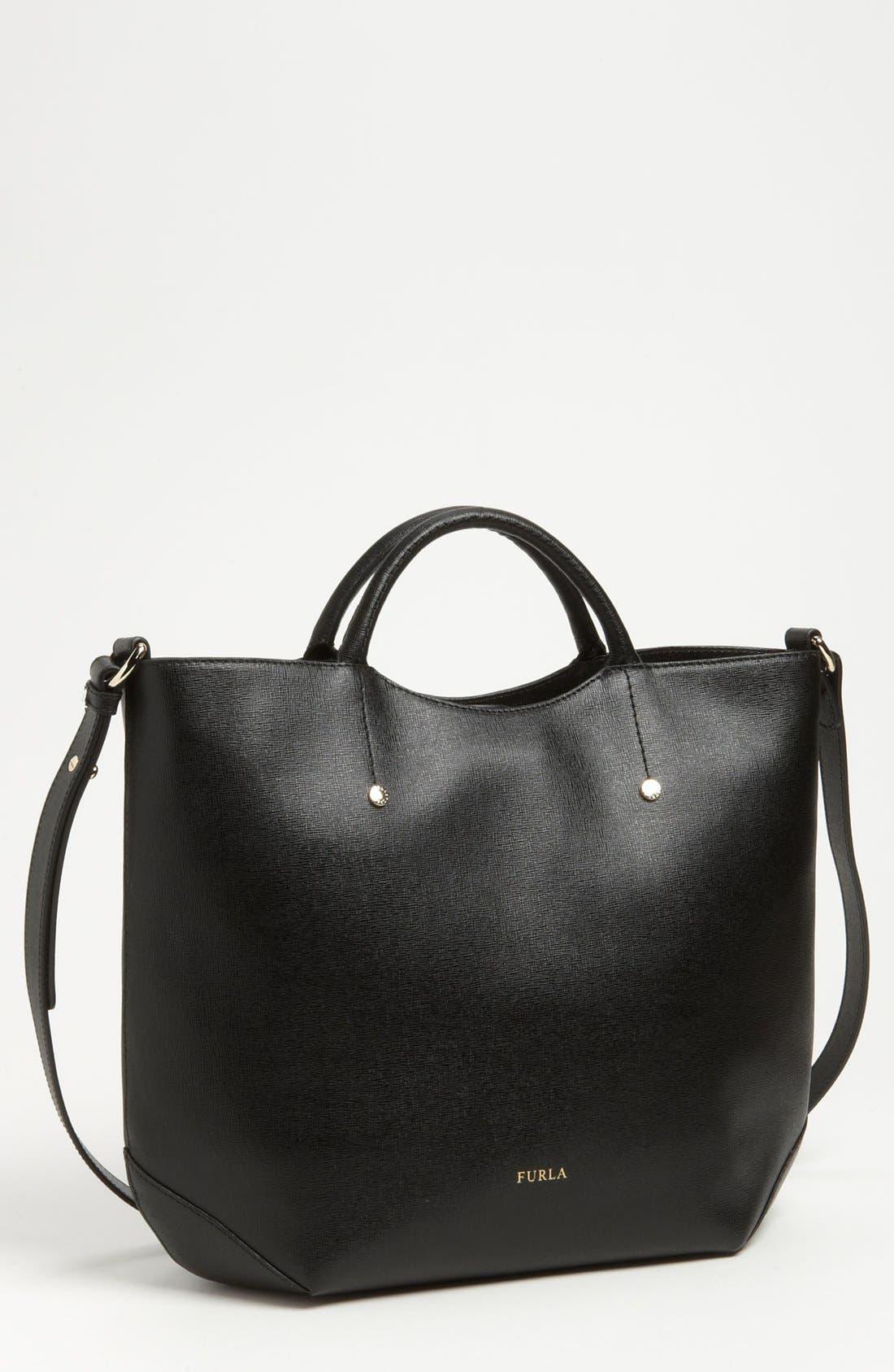 Alternate Image 1 Selected - Furla 'Arianna - Large' Saffiano Leather Shopper