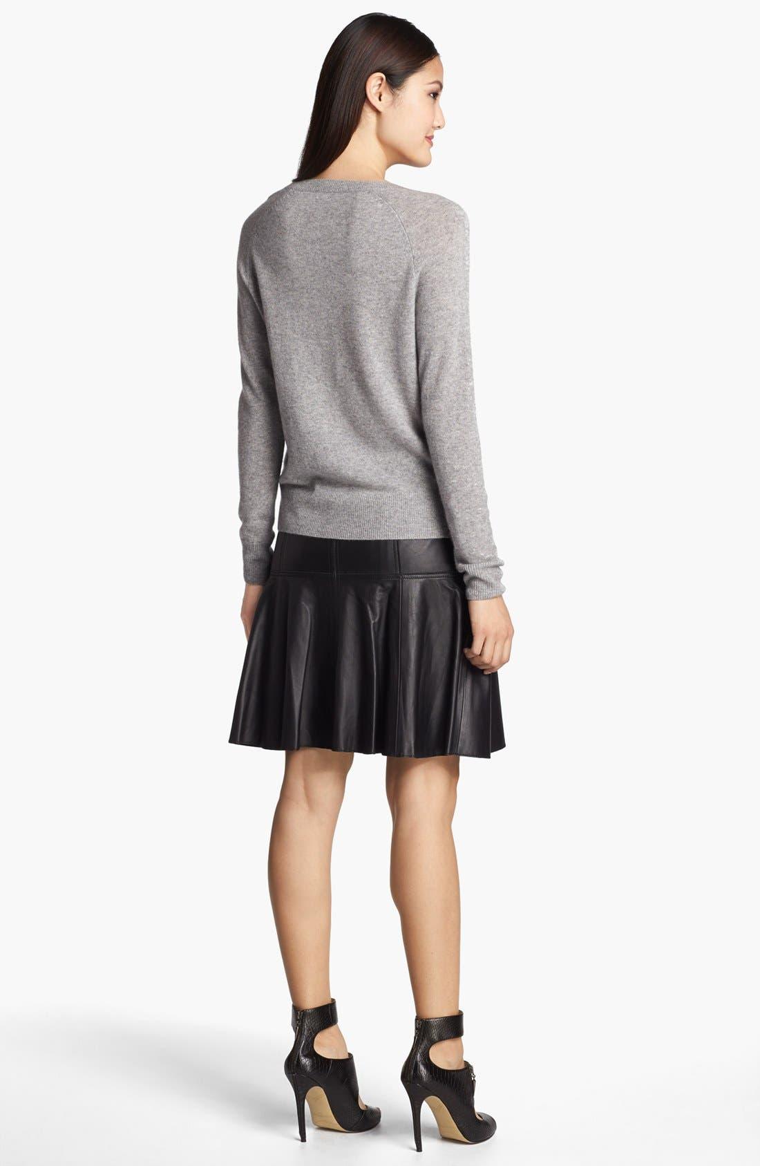 Alternate Image 4  - Halogen® Jewel Neck Cashmere Sweater