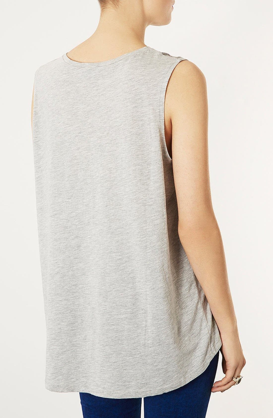 Alternate Image 3  - Topshop 'Hollywood' Burnout Tank
