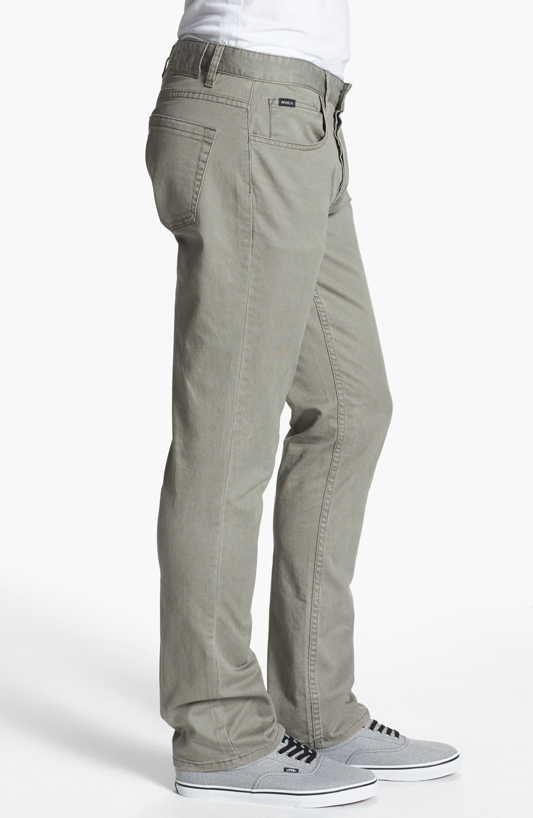 Alternate Image 2  - RVCA 'Stay' Slim Fit Pants