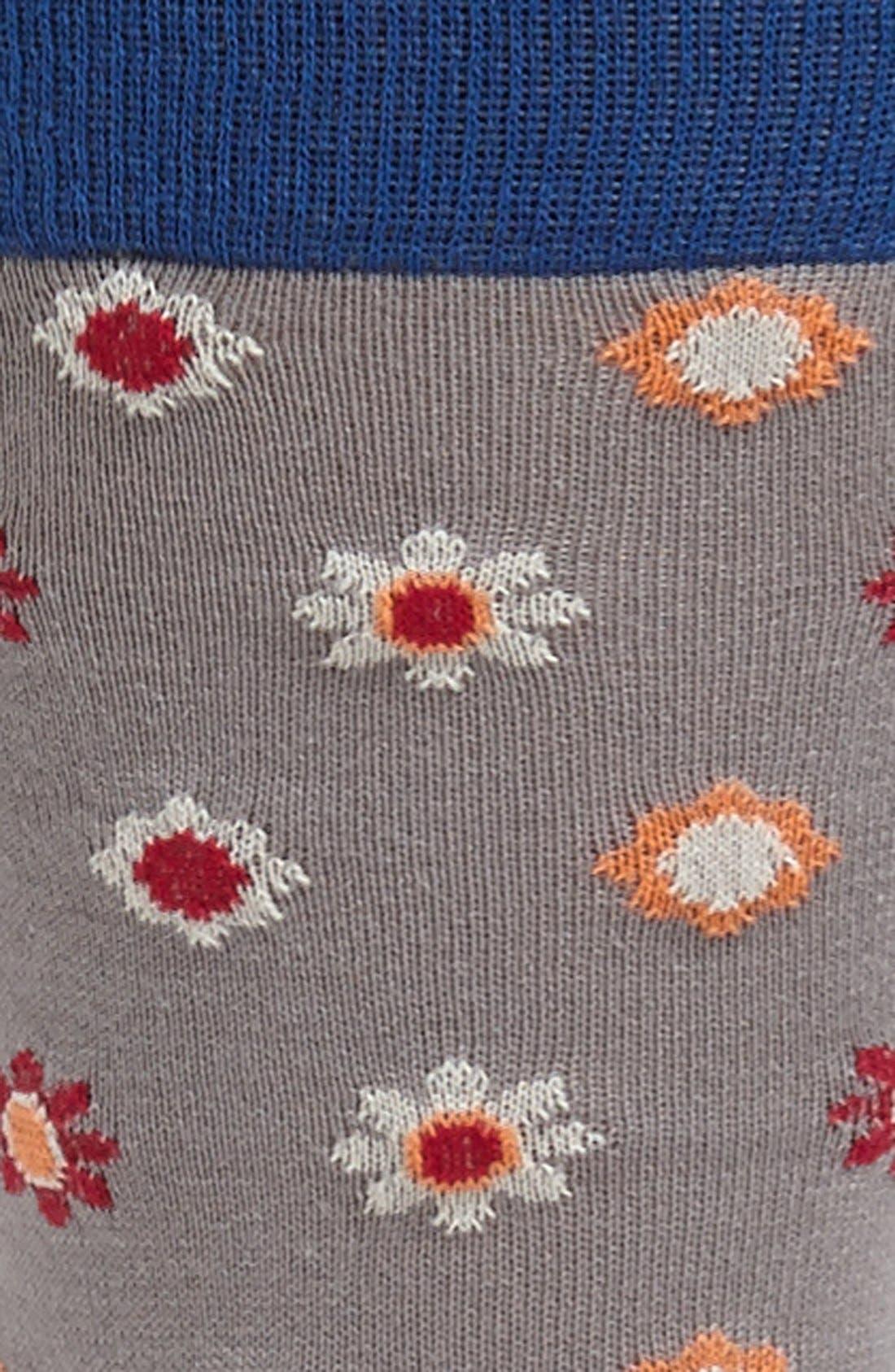 Alternate Image 2  - hook + ALBERT 'Wallpaper' Socks