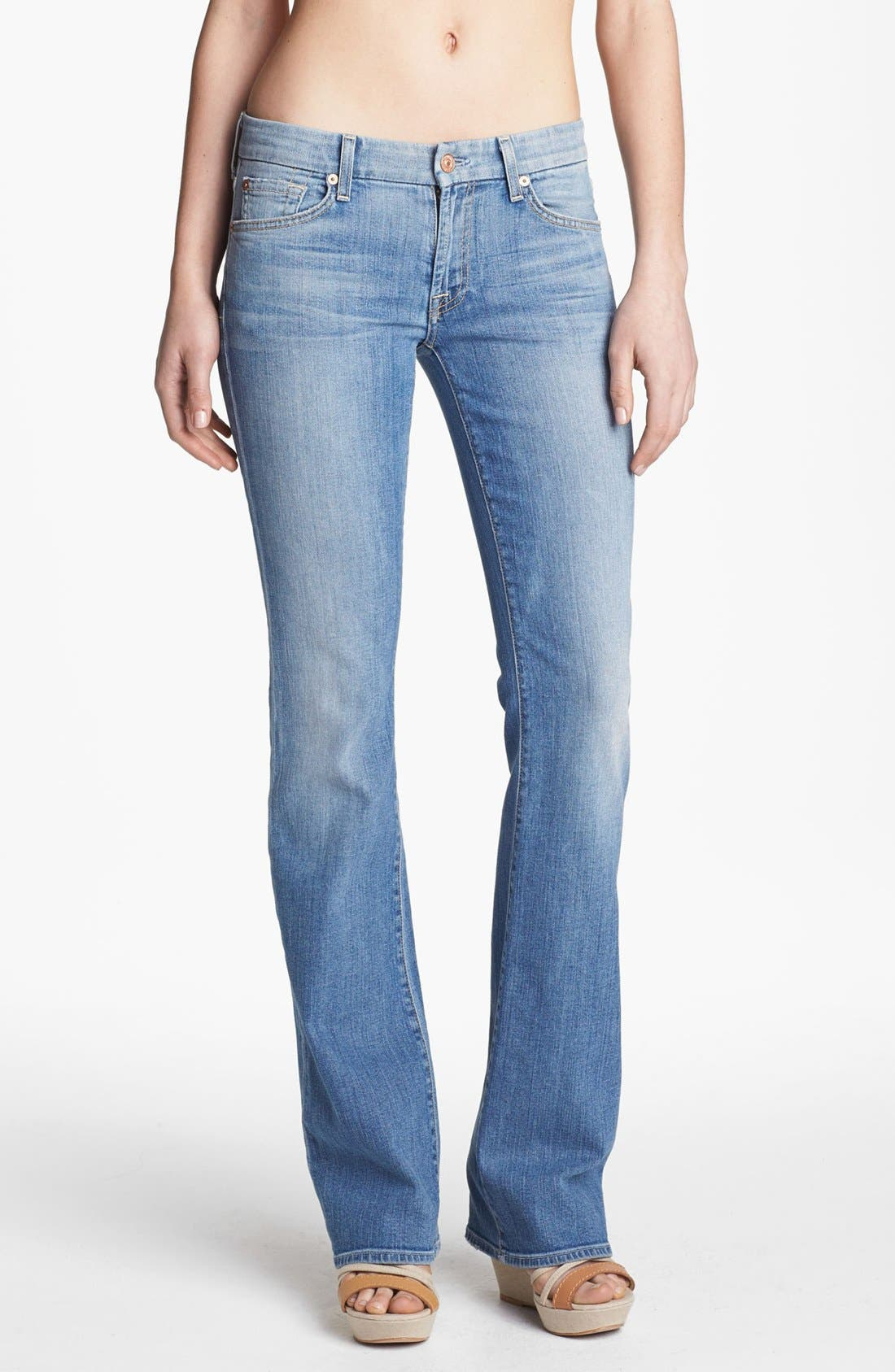 Main Image - 7 For All Mankind® 'Kimmie' Bootcut Jeans (Summer Canyon Mountain)