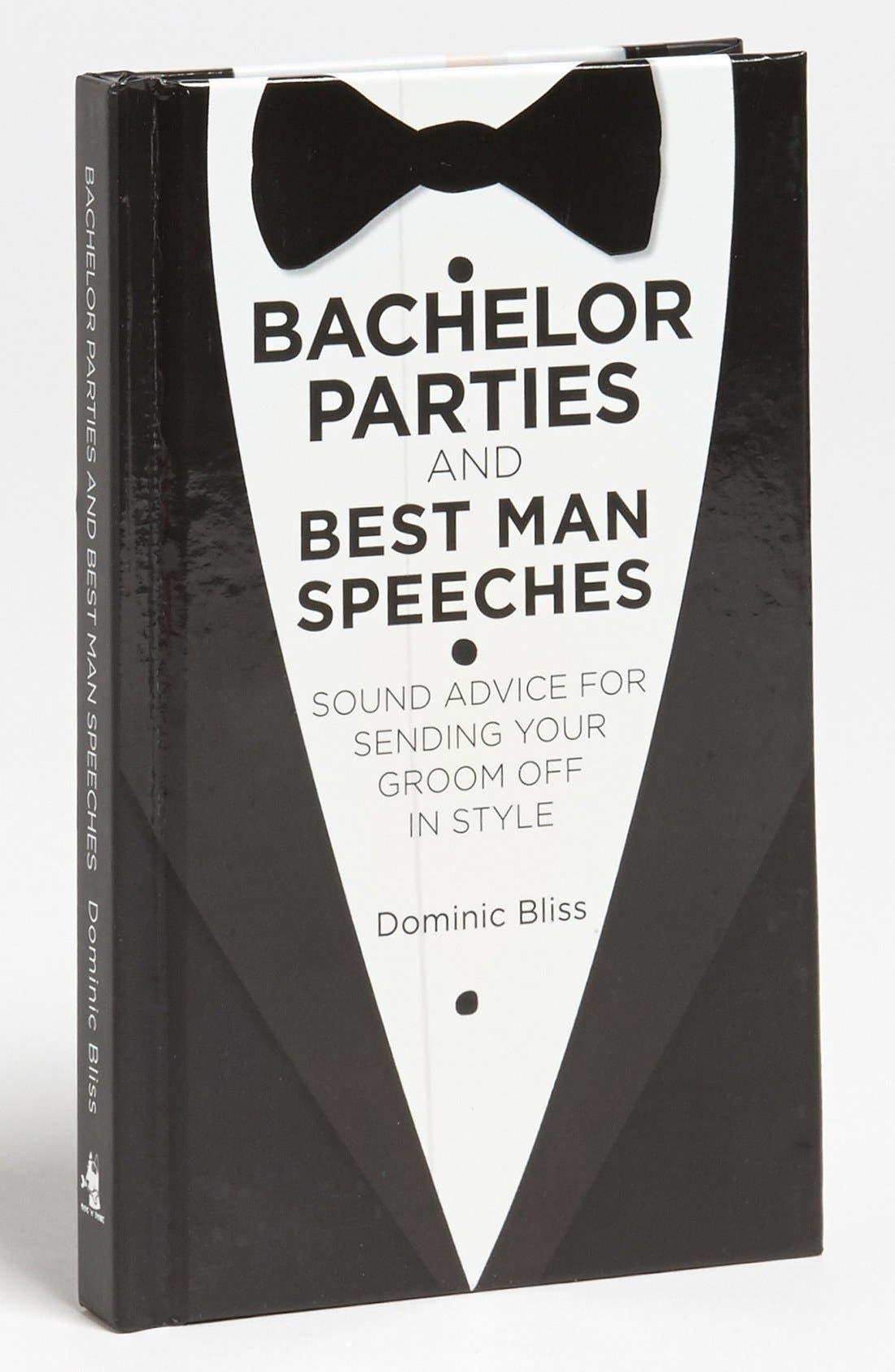Main Image - 'Bachelor Parties & Best Man Speeches' Book