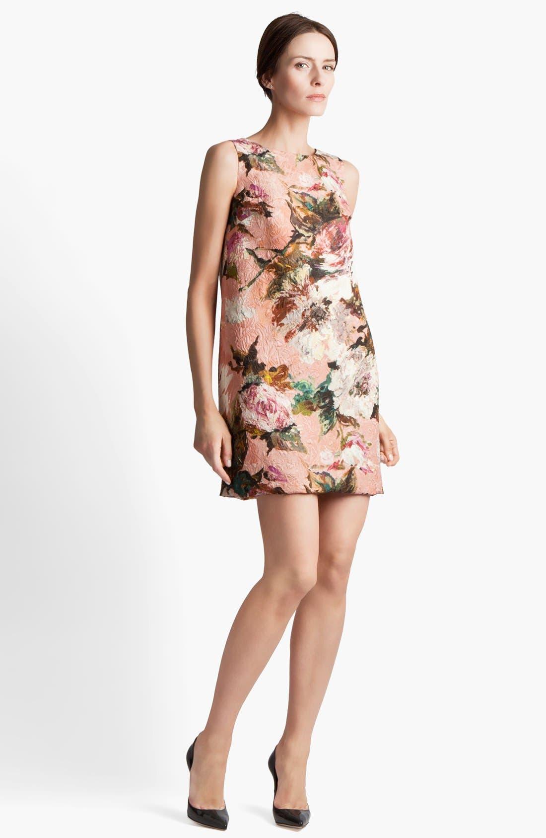 Alternate Image 1 Selected - Dolce&Gabbana Brocade Dress