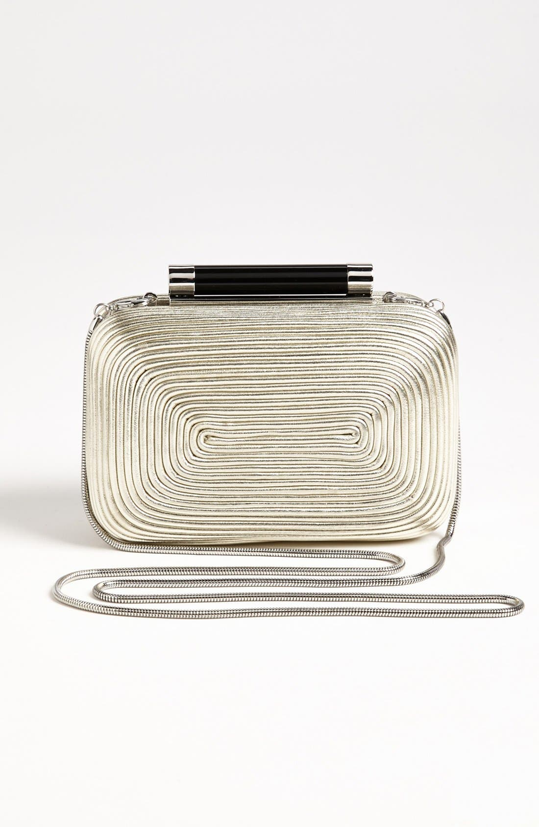 Alternate Image 4  - Diane von Furstenberg 'Tonda - Small' Passementerie Metallic Clutch