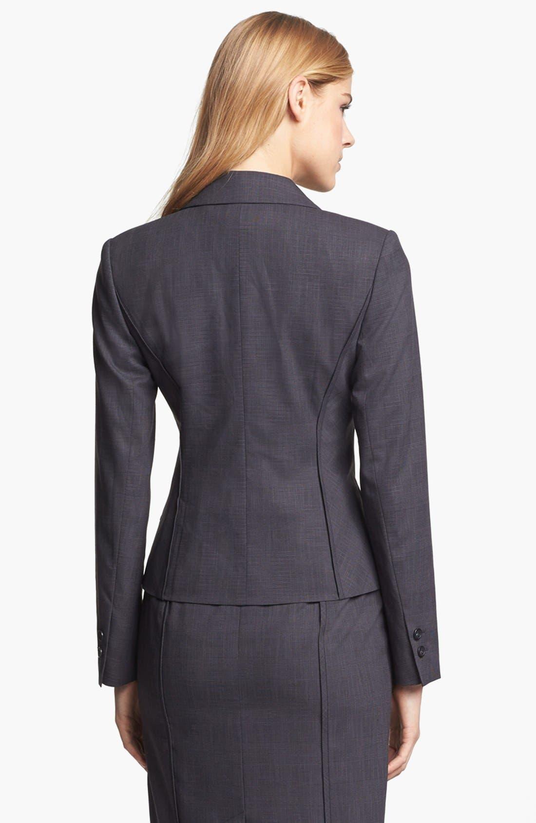 Alternate Image 3  - Halogen® Etched Plaid Suit Jacket