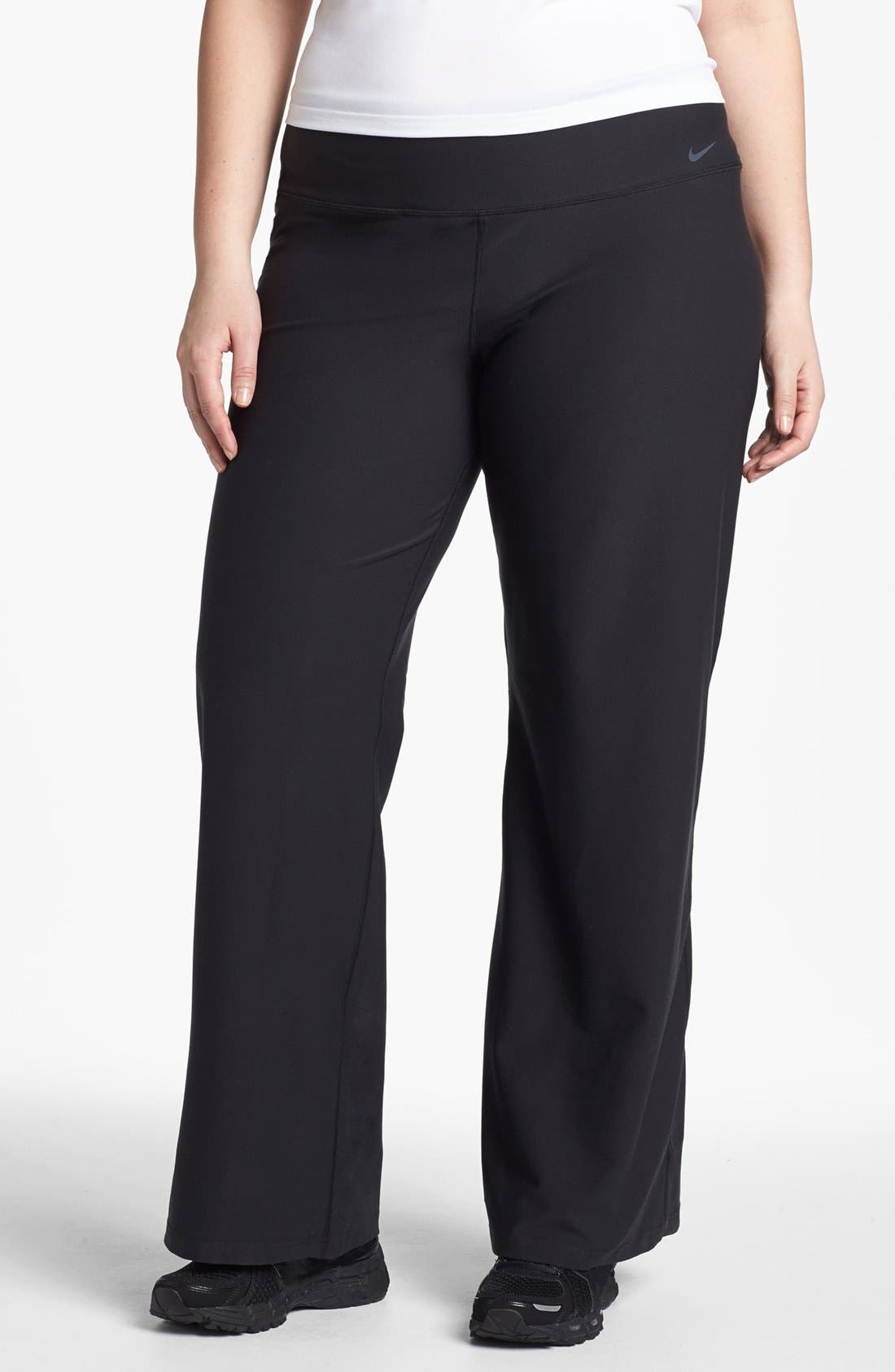 Alternate Image 1 Selected - Nike 'Legend 2.0 Regular Poly' Pants (Plus Size)