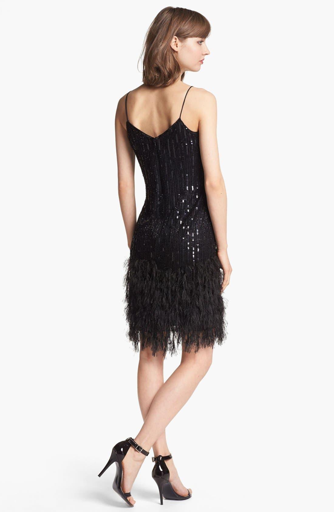 Alternate Image 2  - Pisarro Nights Embellished V-Neck Dress