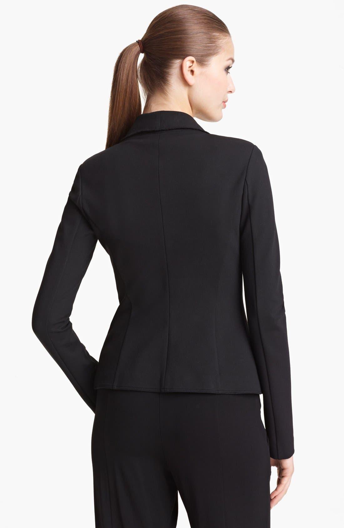 Alternate Image 2  - Donna Karan Collection Structured Jersey Jacket