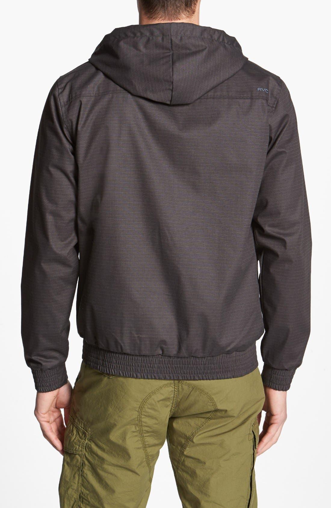 Alternate Image 2  - RVCA 'Sil III' Hooded Jacket