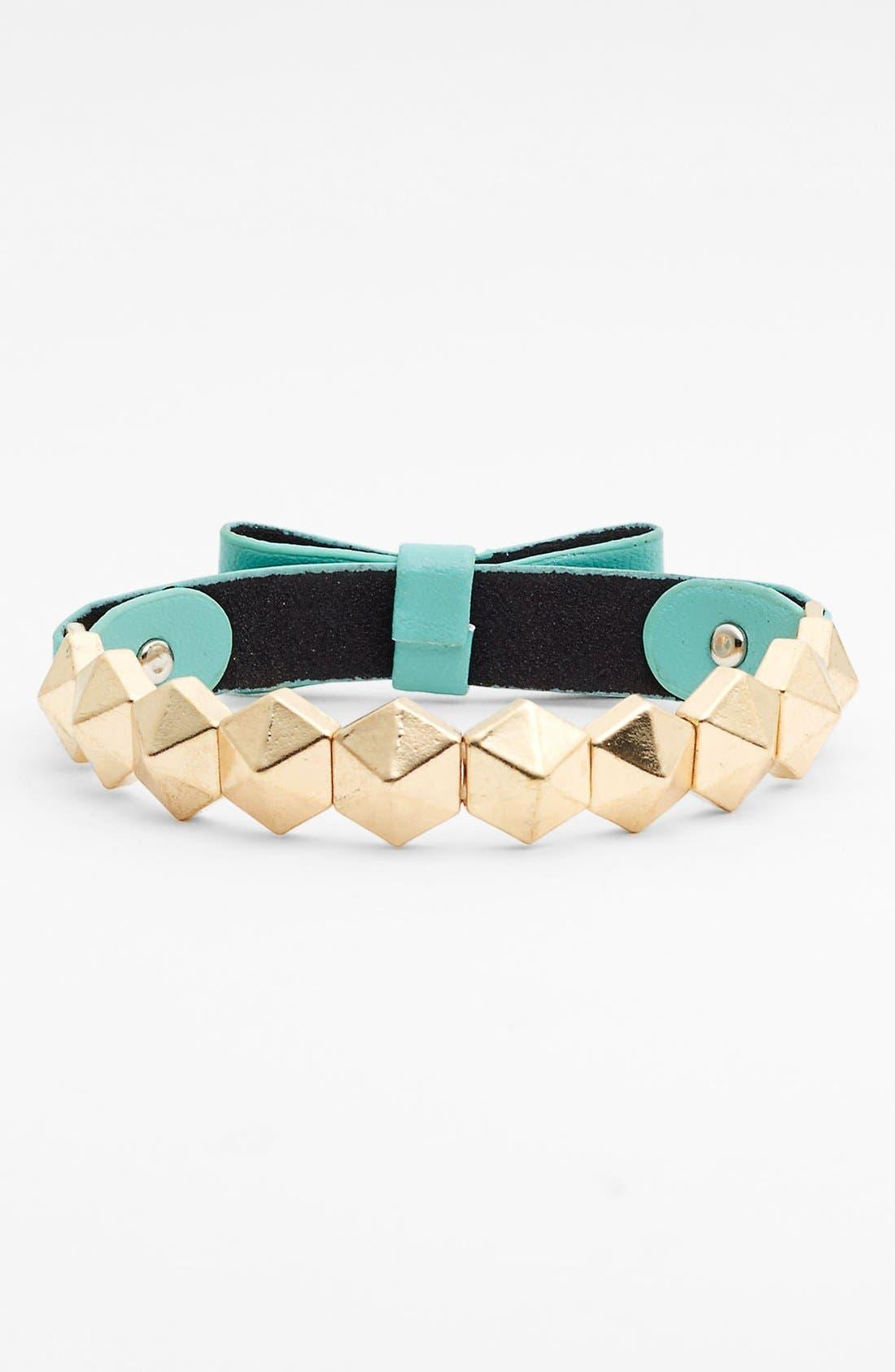 Alternate Image 1 Selected - Carole Bow Stud Bracelet (Online Only)
