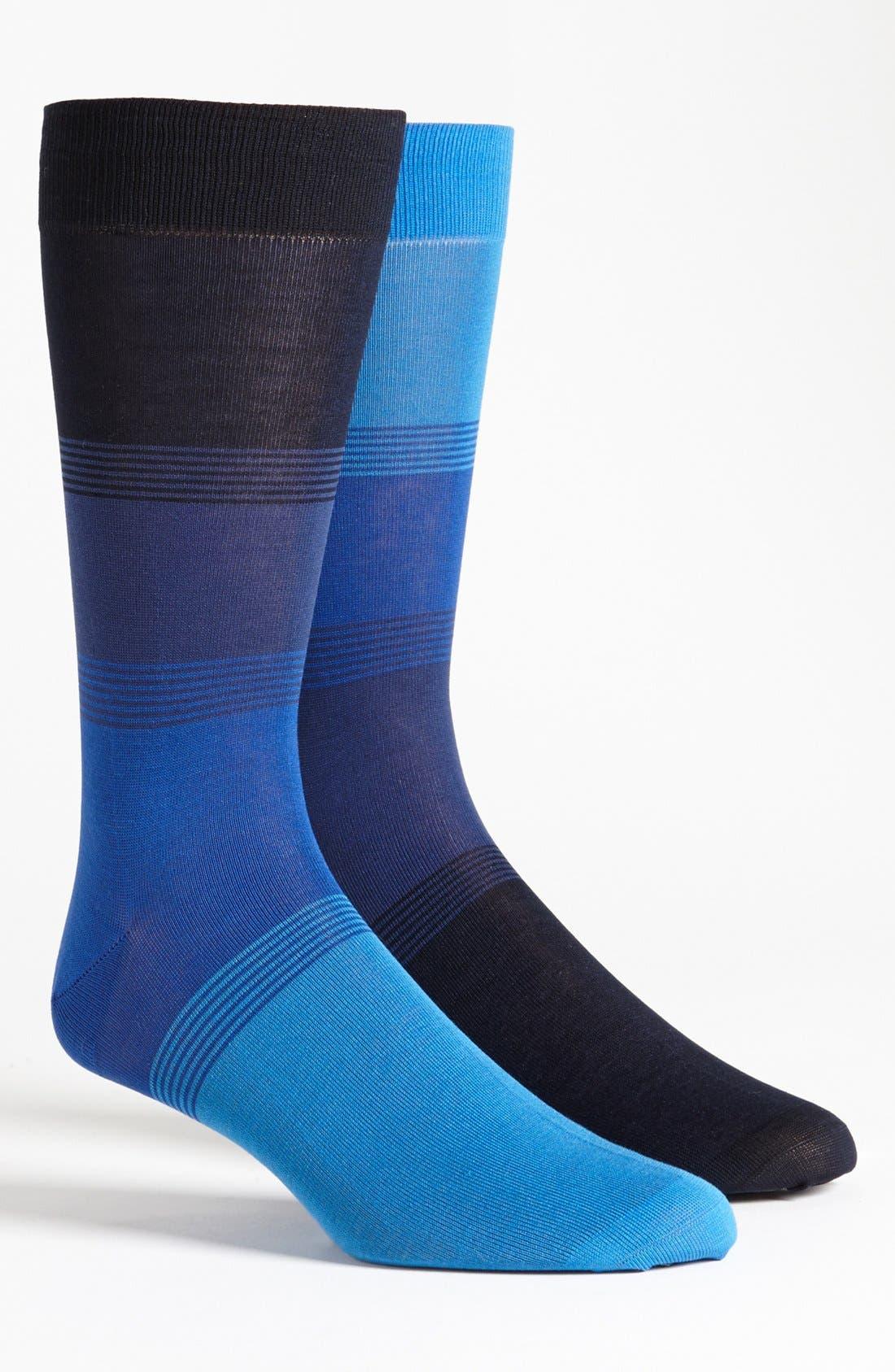 Alternate Image 1 Selected - Pantherella for Ted Baker London Stripe Socks