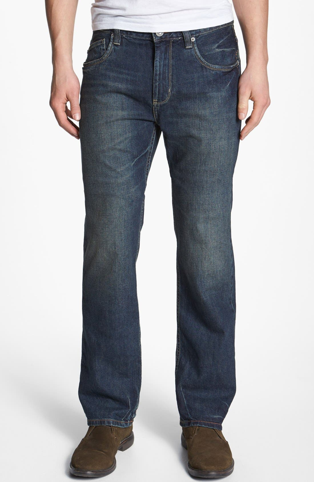 Alternate Image 1 Selected - Tommy Bahama Denim 'Steve Standard Fit' Jeans (Vintage)