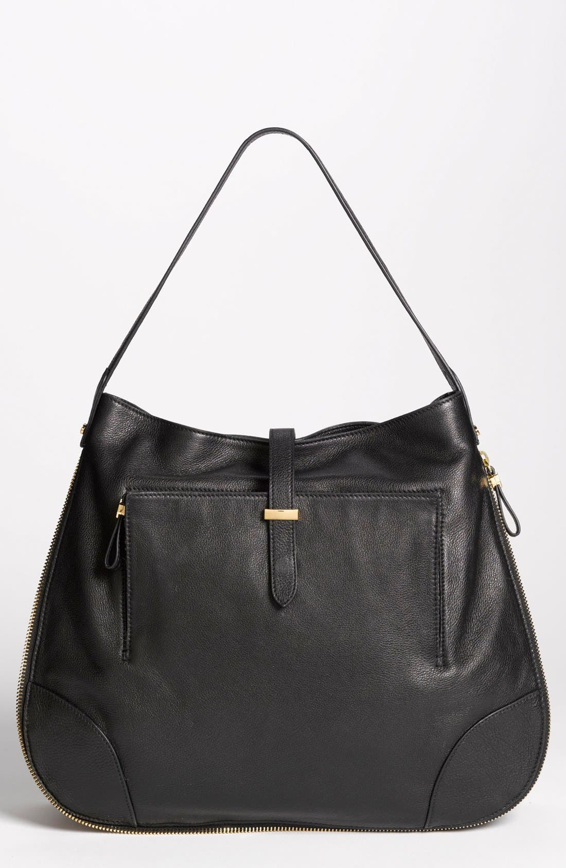 Main Image - Tory Burch 'Clay - Classic' Leather Hobo