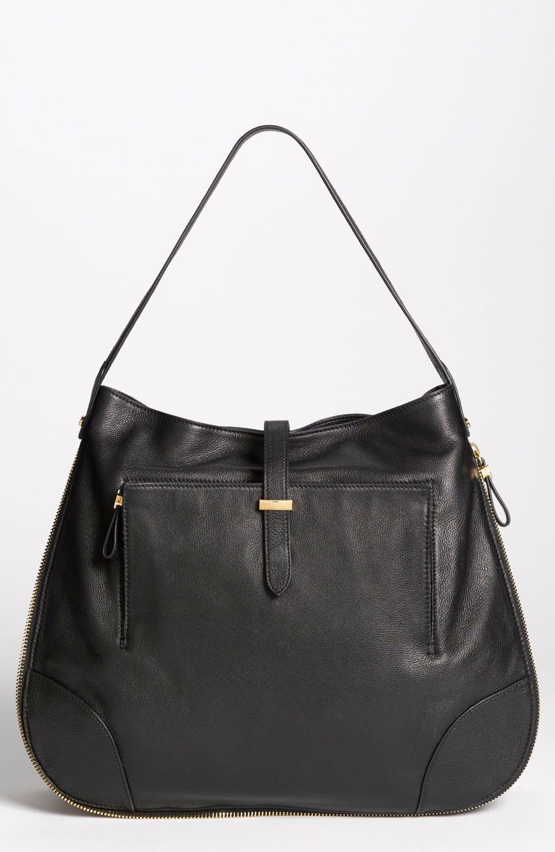 Main Image - Tory Burch 'Clay - Classic' Leather Hobo