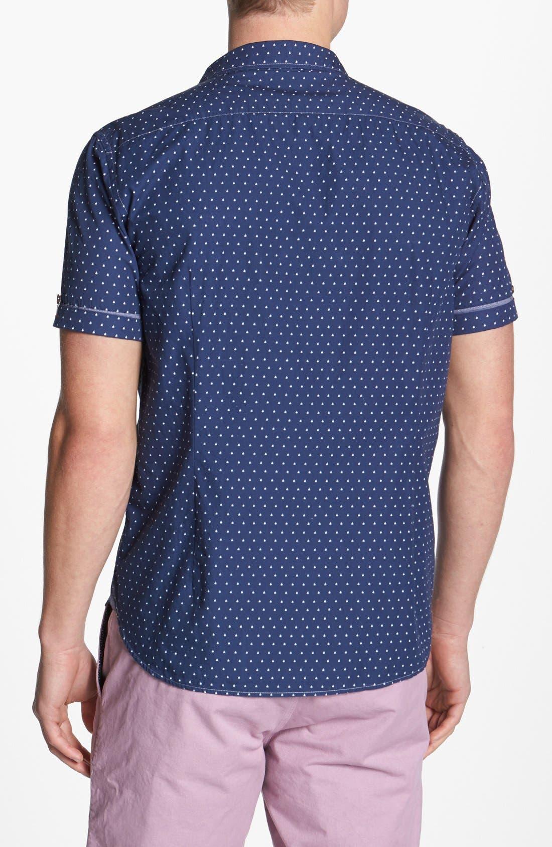 Alternate Image 2  - Ted Baker London 'Boaty' Short Sleeve Sport Shirt