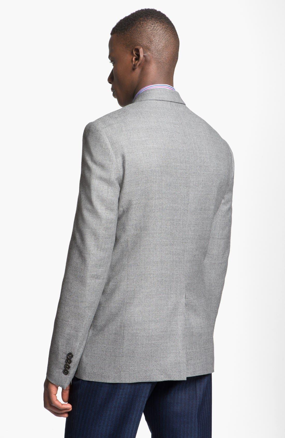 Alternate Image 2  - Paul Smith London Slim Fit Wool Blazer
