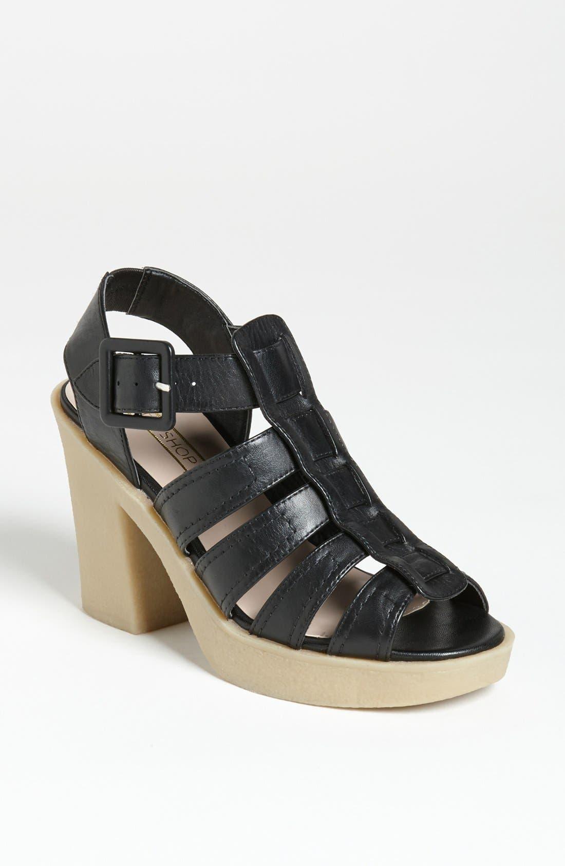 Alternate Image 1 Selected - Topshop 'Georgia' Sandal