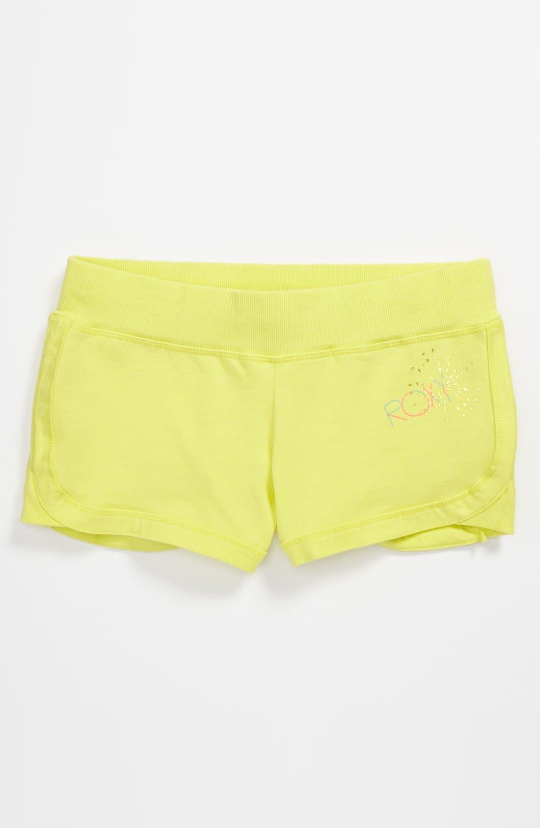 Alternate Image 1 Selected - Knit Shorts (Big Girls)