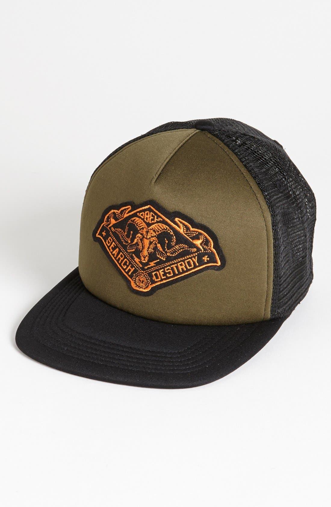 Main Image - Obey 'Search & Destroy' Trucker Hat
