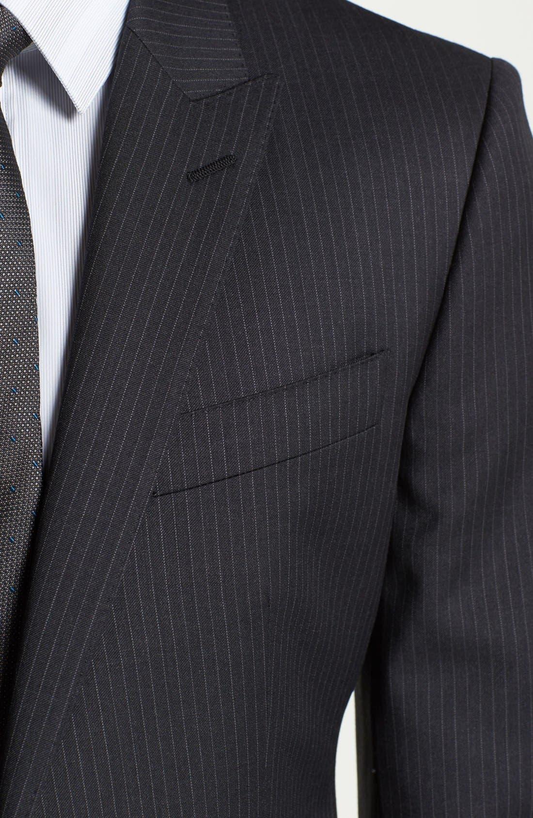 Alternate Image 2  - Dolce&Gabbana 'Martini' Pinstripe Wool Suit