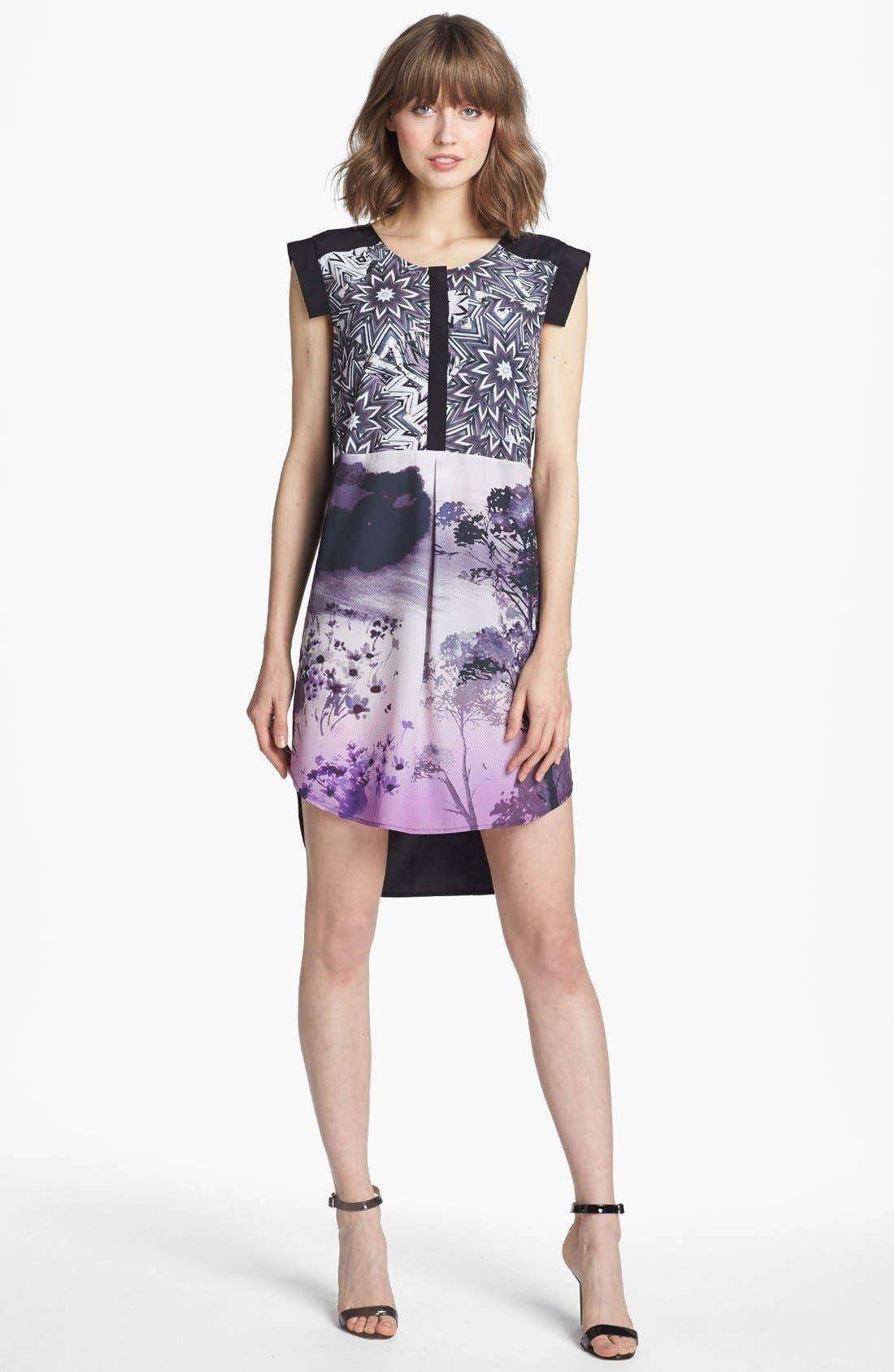 Alternate Image 1 Selected - Trouvé Multi Print Tunic Dress