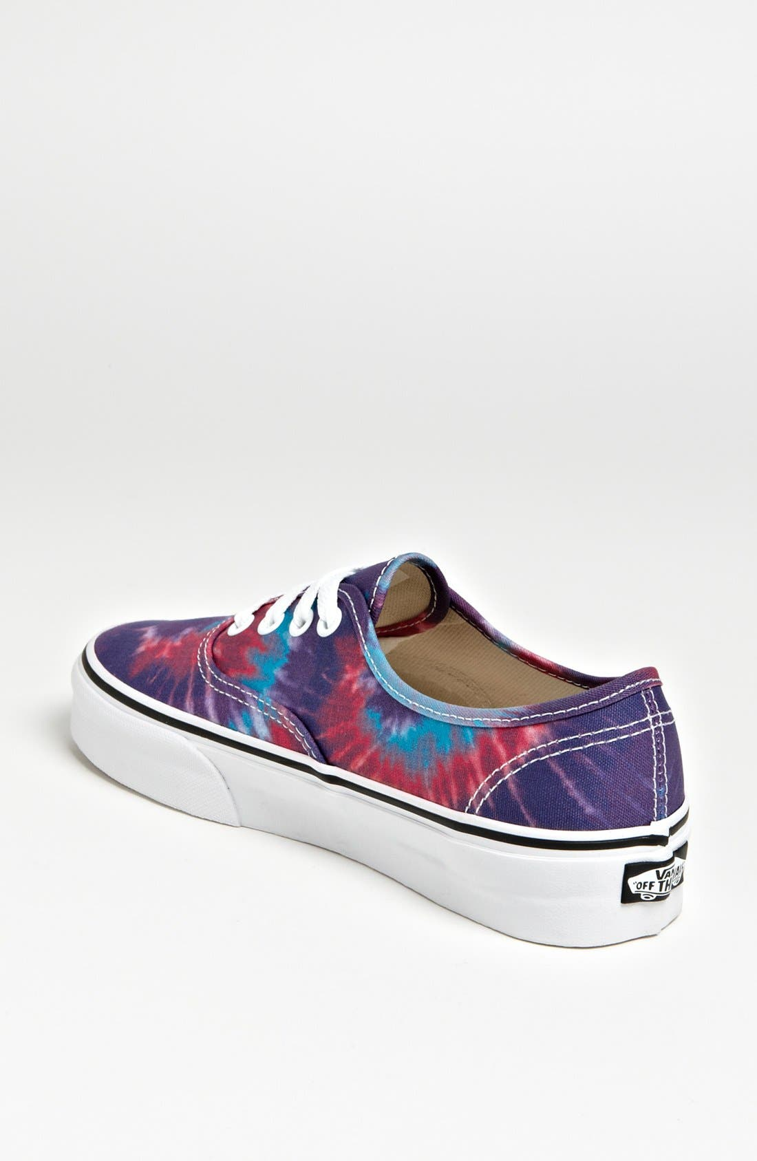 Alternate Image 2  - Vans 'Authentic - Tie Dye' Sneaker (Women)