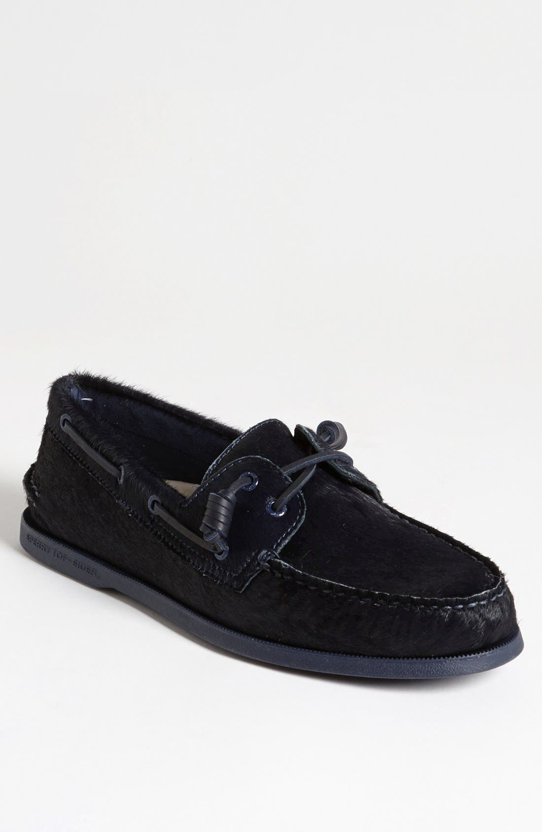Alternate Image 1 Selected - Sperry Top-Sider® for Jeffrey 'Authentic Original' Calf Hair Boat Shoe