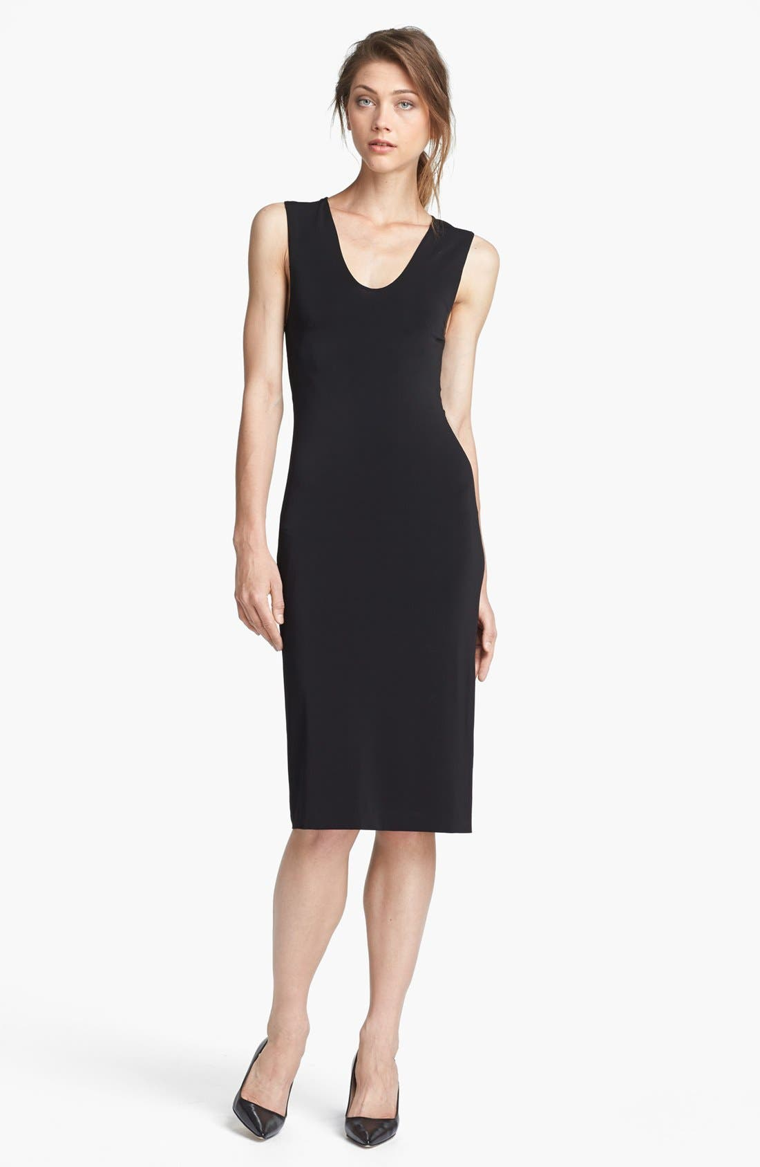 Main Image - T by Alexander Wang Long Matte Jersey Tank Dress