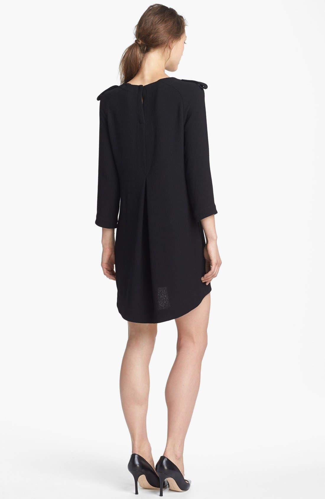 Alternate Image 2  - A.L.C. 'Svieta' Wool High/Low Dress