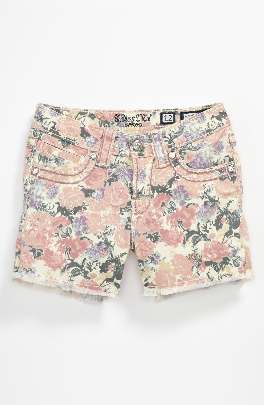 Alternate Image 2  - Miss Me Shorts (Big Girls)