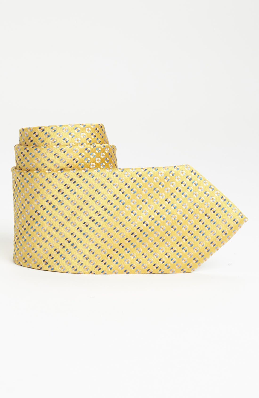 Main Image - Joseph Abboud Woven Silk Tie (Boys)