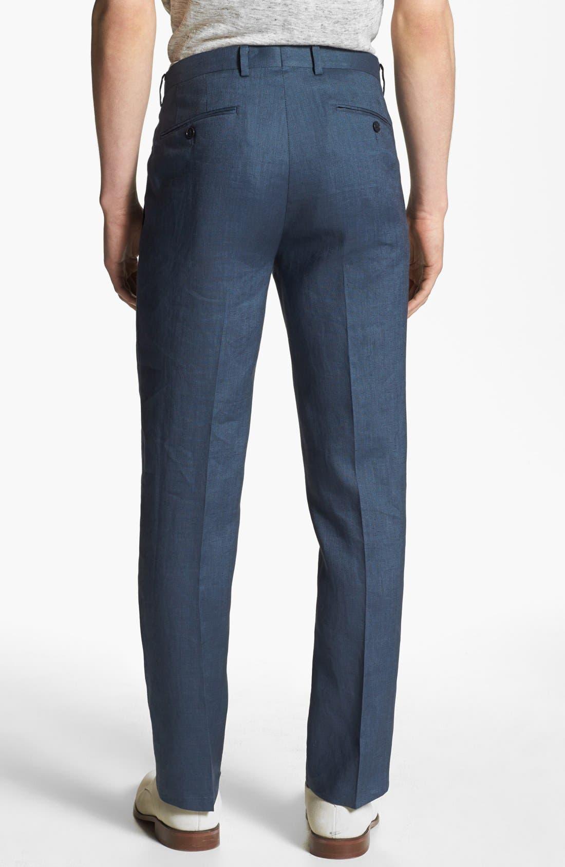 Alternate Image 2  - John Varvatos Star USA Red Label 'Petro' Linen Trousers