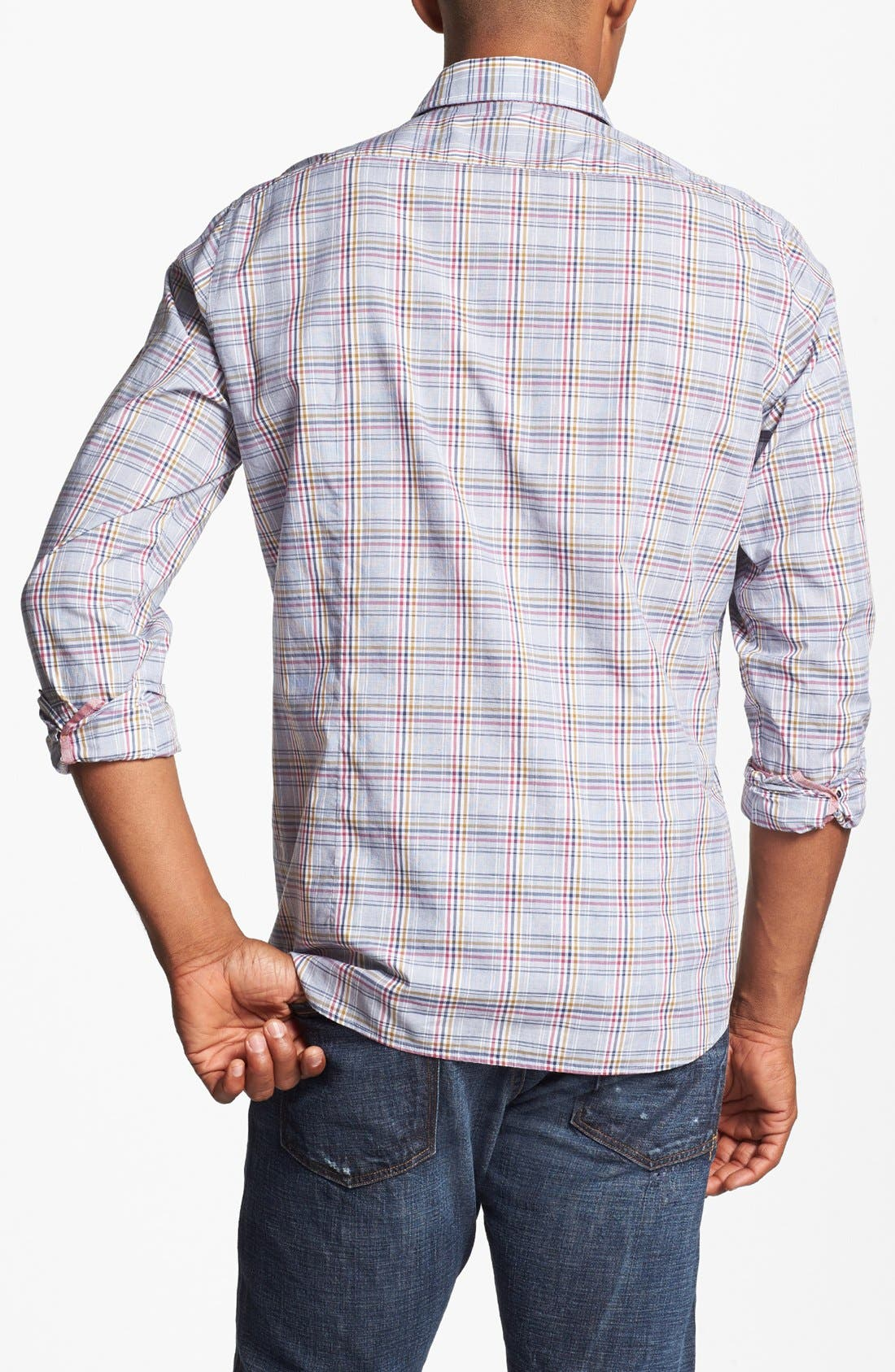 Alternate Image 2  - BOSS HUGO BOSS 'Lucas' Regular Fit Sport Shirt