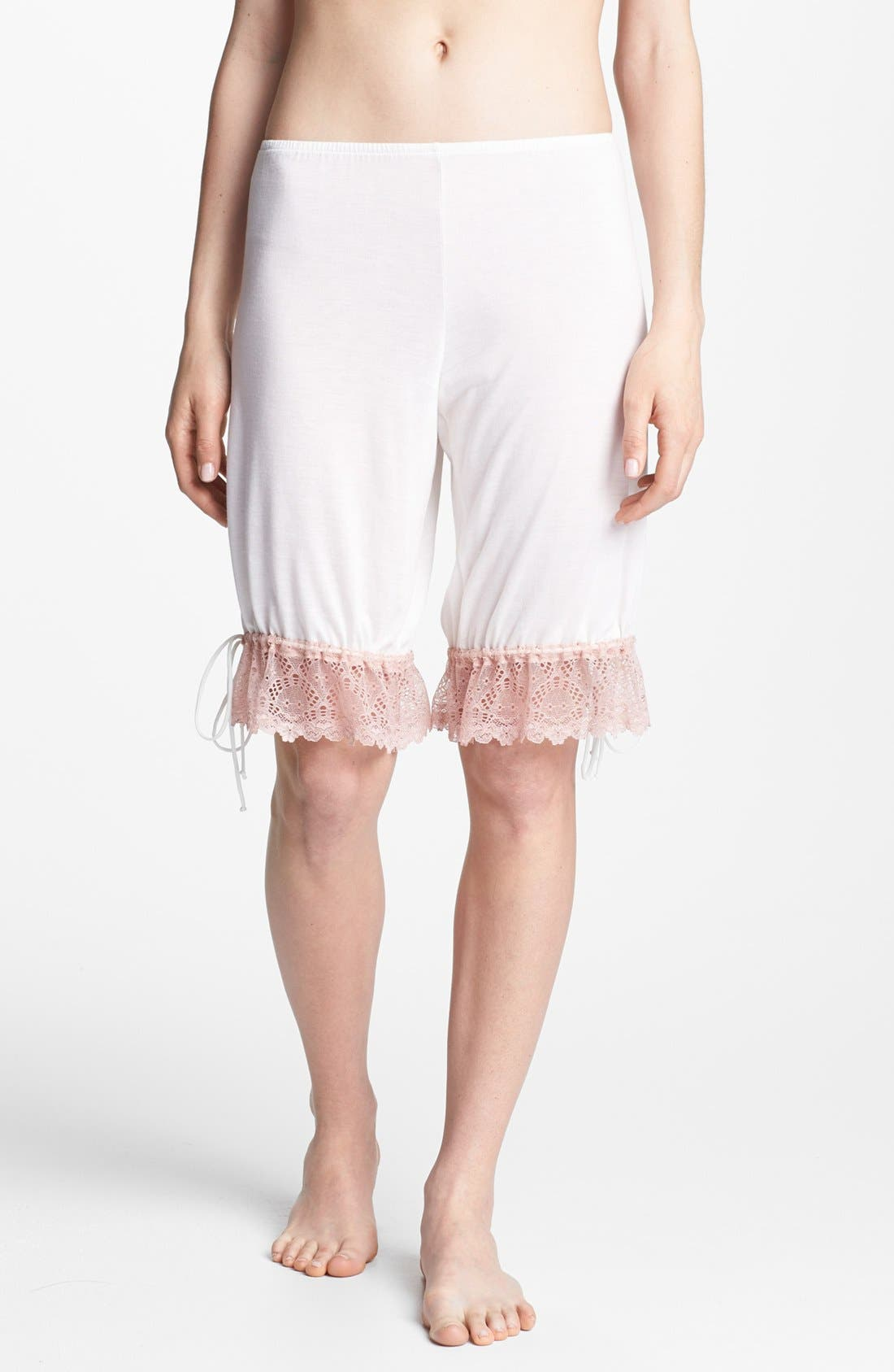 Alternate Image 1 Selected - Only Hearts 'Venice' Lace Trim Shorts