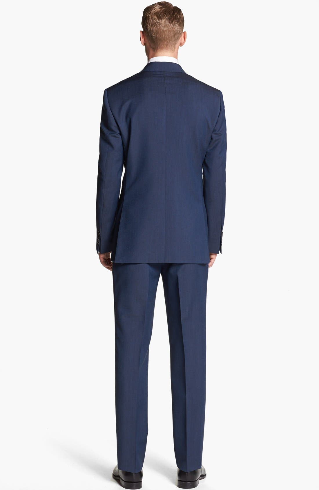 Alternate Image 3  - Burberry London Wool & Mohair Suit