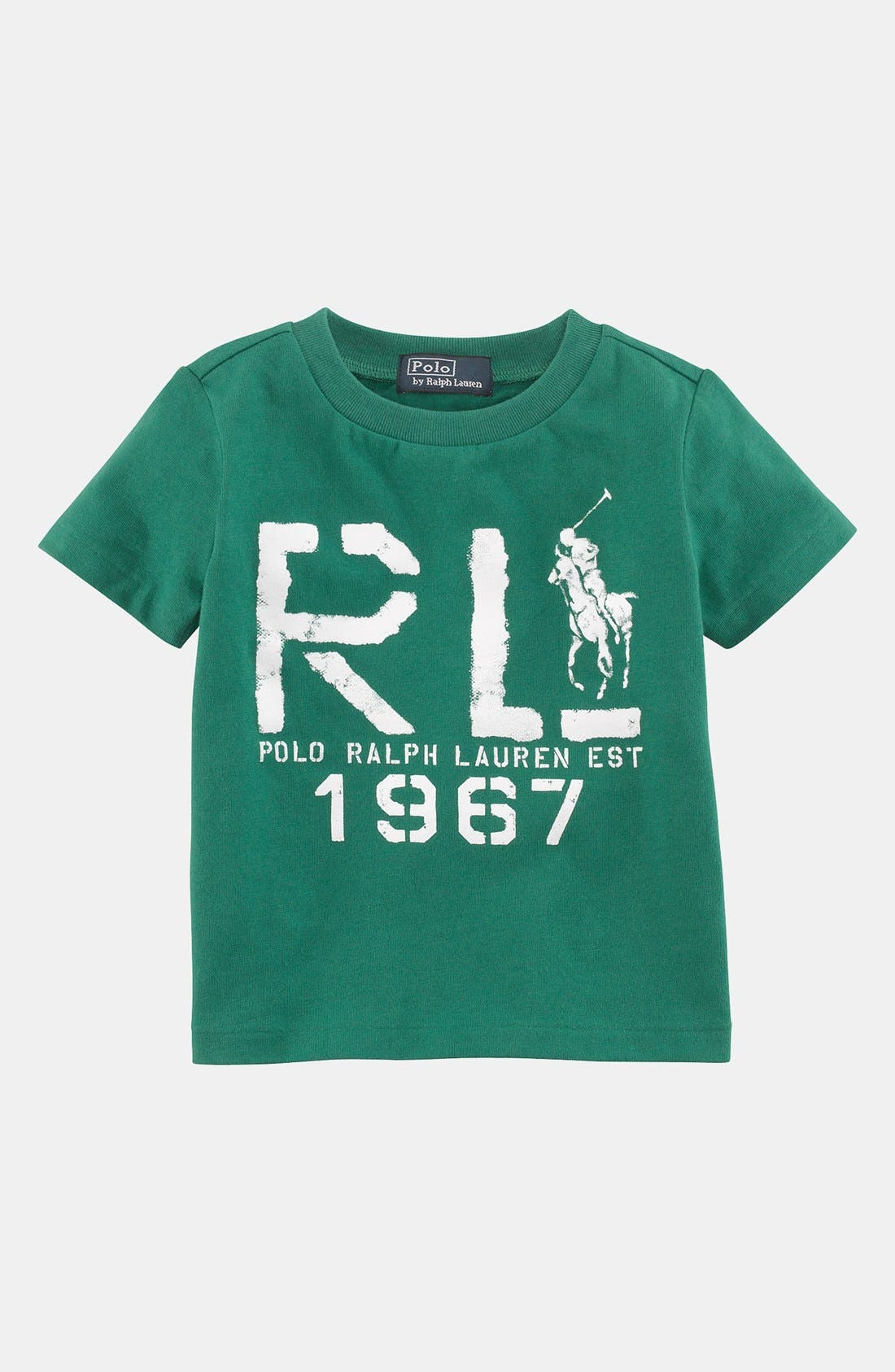 Alternate Image 1 Selected - Ralph Lauren Logo T-Shirt (Baby Boys)