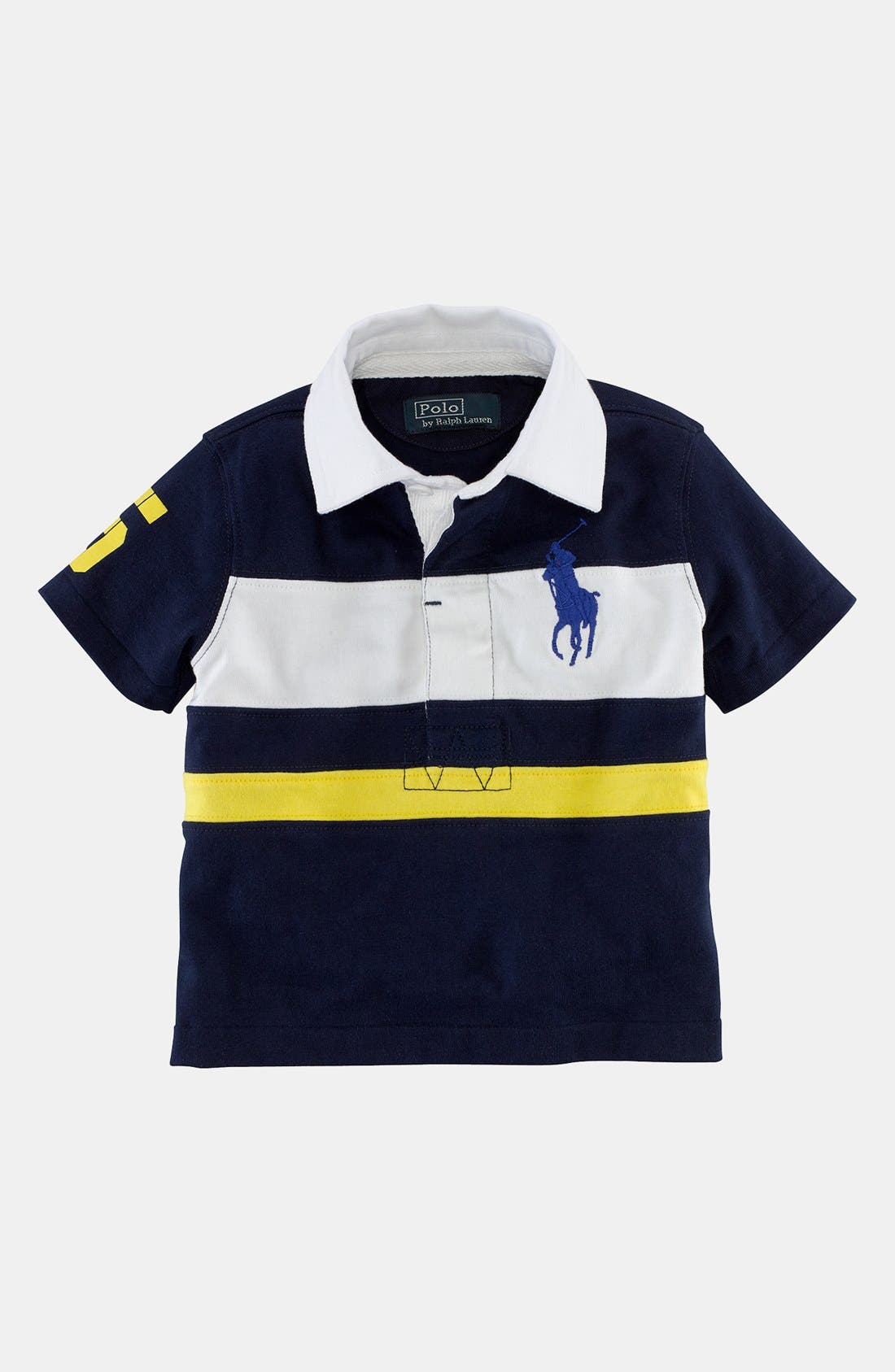Main Image - Ralph Lauren Rugby Polo (Baby Boys)