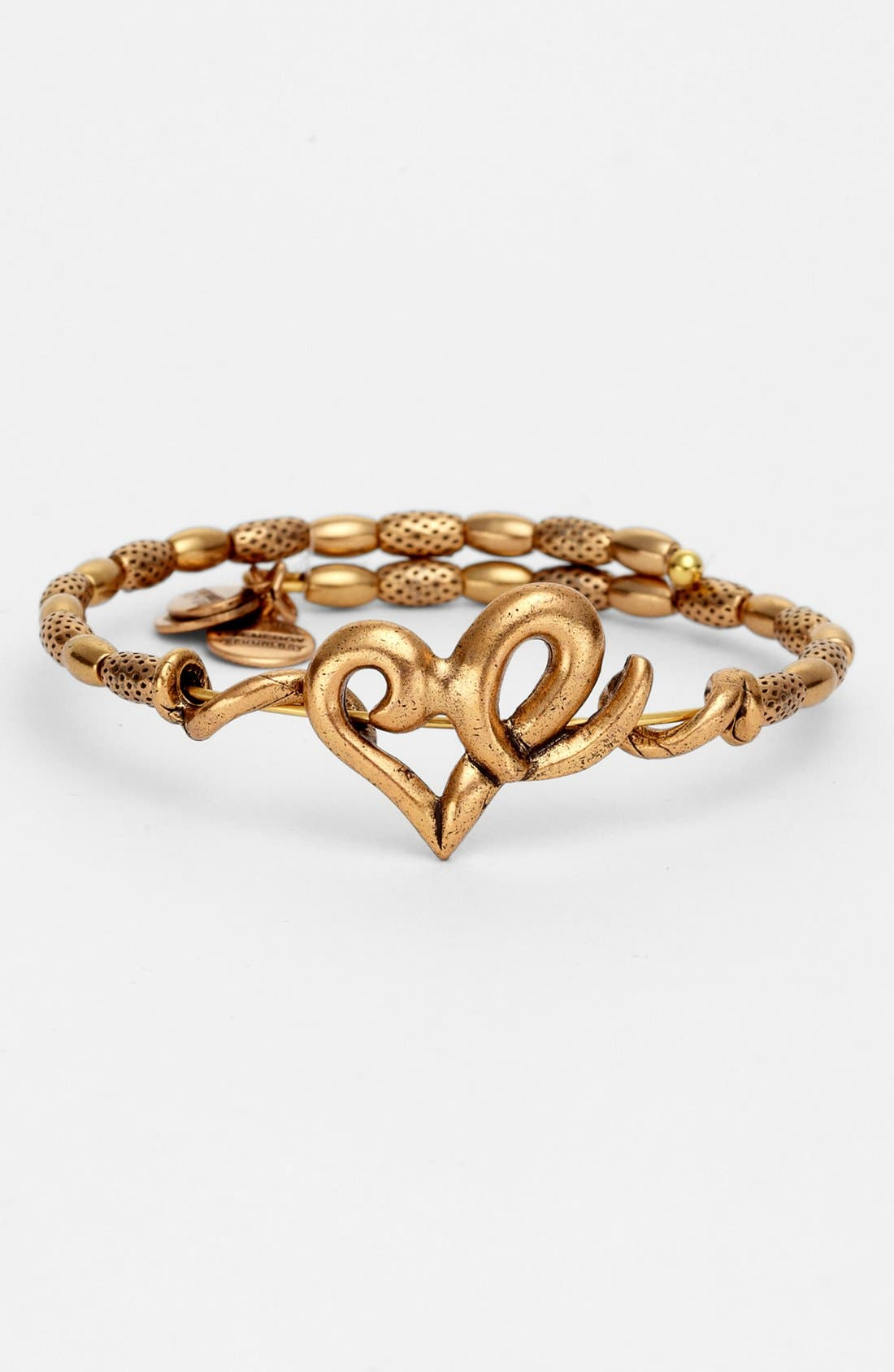 Alternate Image 1 Selected - Alex and Ani 'Heart Wrap' Expandable Bangle