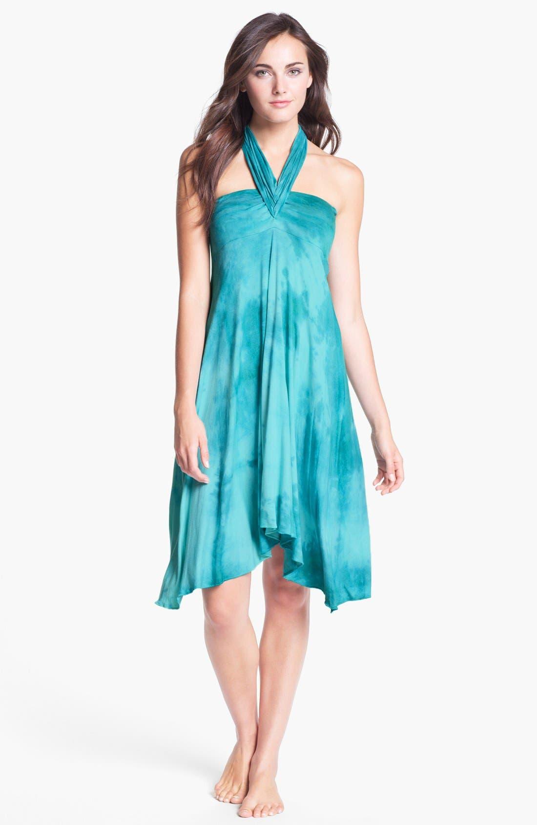 Alternate Image 3  - Elan Tie Dye Convertible Cover-Up Dress