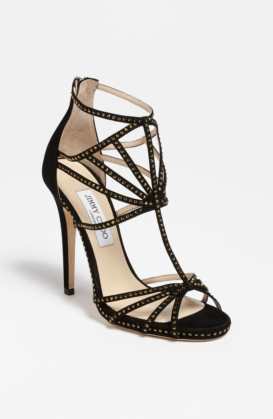 Alternate Image 1 Selected - Jimmy Choo 'Crystal' Sandal