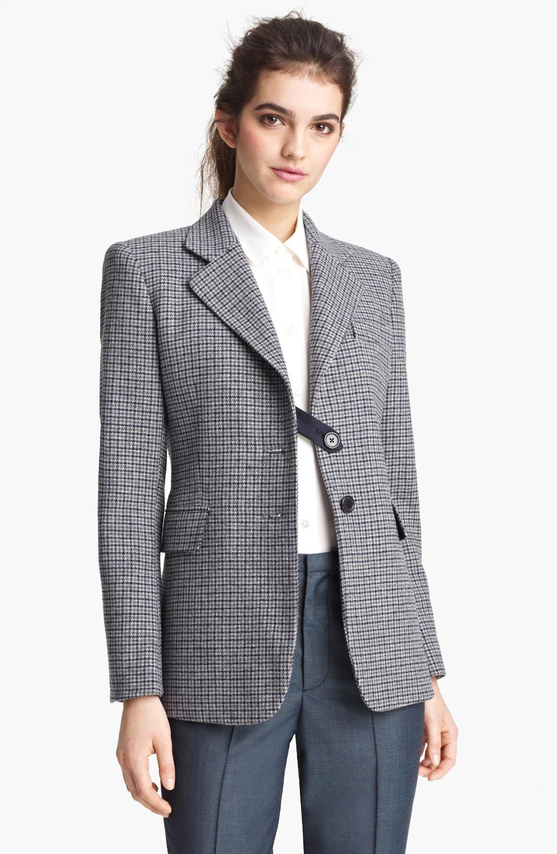 Main Image - MARC JACOBS Houndstooth Wool Blazer