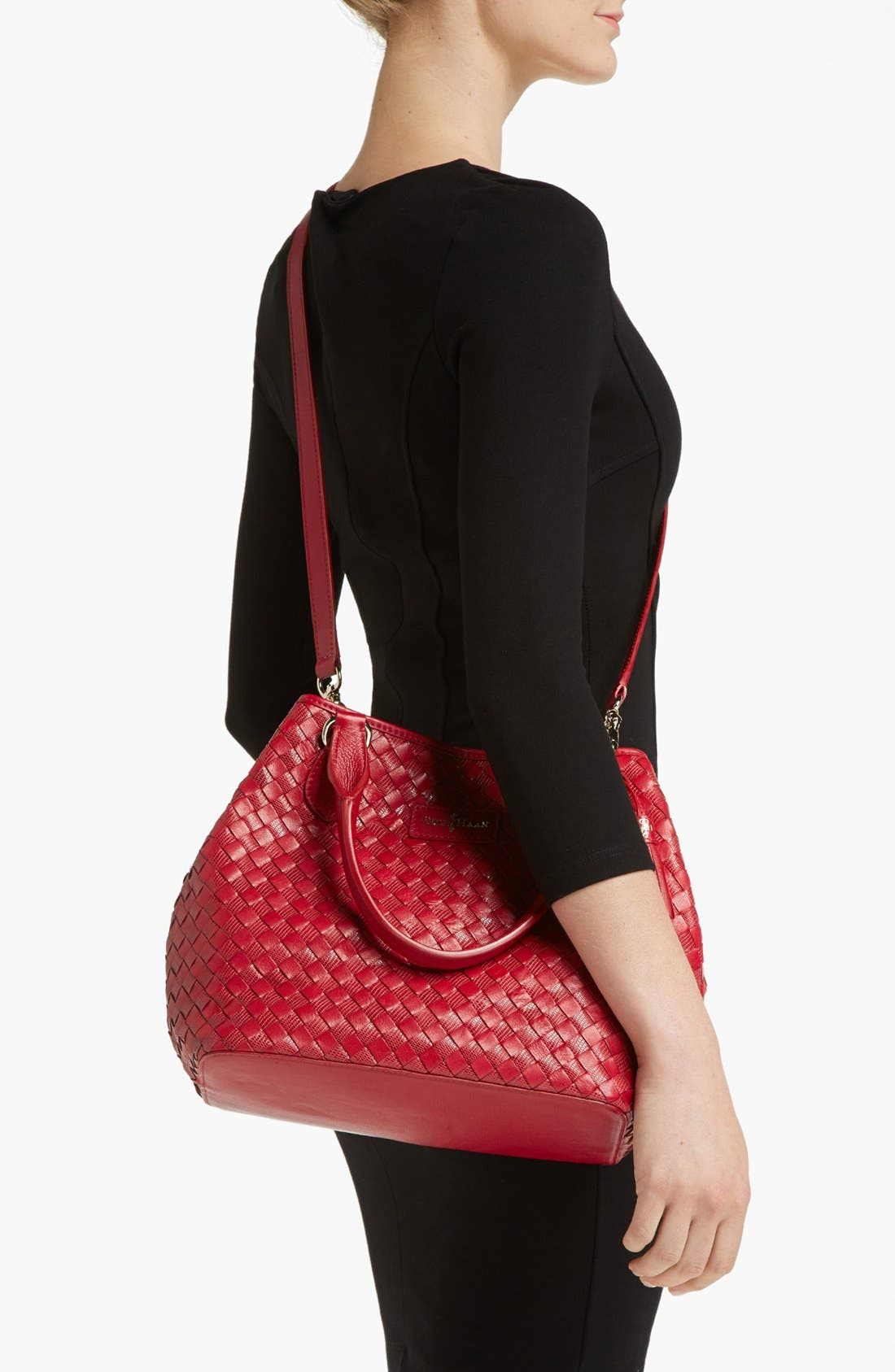 Alternate Image 4  - Cole Haan 'Nora Weave - Small Serena' Tote